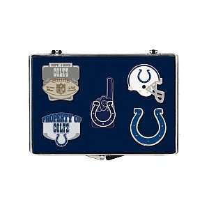 Indianapolis Colts Official Logo Lapel Pin Set Everything
