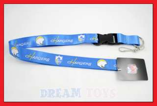 NFL San Diego Chargers Lanyard Key Chain / Football