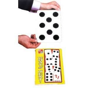 Whats Next Jumbo Cards   Magic Trick Prop Toys & Games