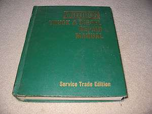 1971 MOTORS TRUCK & DIESEL REPAIR & SERVICE MANUAL FORD CHEVY DETROIT
