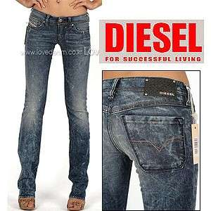 NWT Diesel Lowky 63F Straight Leg Jeans Authentic $340