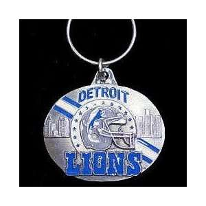 NFL Design Key Ring   Detroit Lions