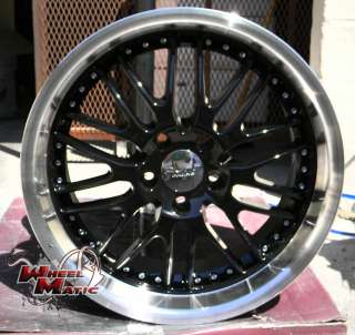 18 RUFF RACING 281 WHEELS RIMS LEXUS GS LS DODGE AVENG