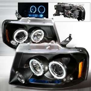 Halo Led Projector Head Lamps/ Headlights Performance Conversion Kit