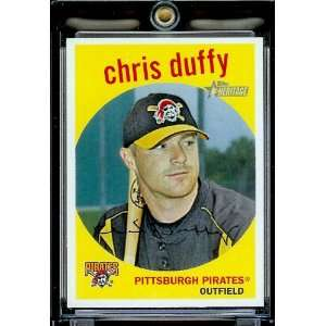 2008 Topps Heritage # 363 Chris Duffy / Pittsburgh Pirates
