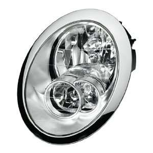HELLA 010068011 Mini Cooper Driver Side Headlight Assembly