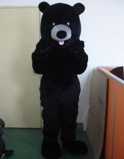 Black Bear Mascot Costume Outfit Suit Fancy Dress SKU 13273467978