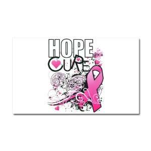 Car Magnet 20 x 12 Cancer Hope for a Cure   Pink Ribbon