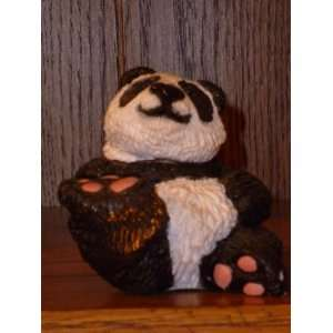 Jolly Panda Bear Figurine