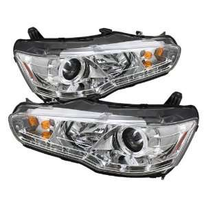 Spyder Auto PRO YD ML08 DRL C Mitsubishi Lancer/EVO 10 Chrome DRL LED