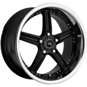 Drifz GTR 20x10 Black Wheel / Rim 5x4.5 with a 35mm Offset and a 73.00