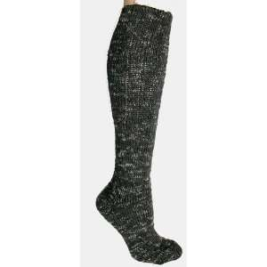Foot Traffic Womens Cotton Rag Bootsock Granite Socks