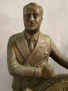 FDR Antique ART DECO era NAUTICAL President ROOSEVELT Old FIGURAL