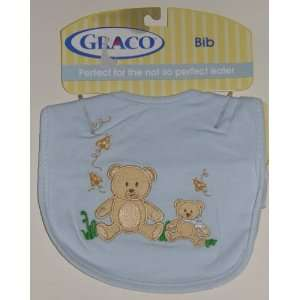 Teddy Bears Embroidered Baby Bib Baby