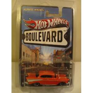 2012 Hot Wheels Boulevard BIG HITS 57 Chevy Bel Air Pearl Orange