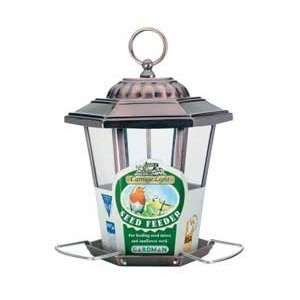 Seed Feeder / Copper Size .55 Quart By Gardman Wild Bird