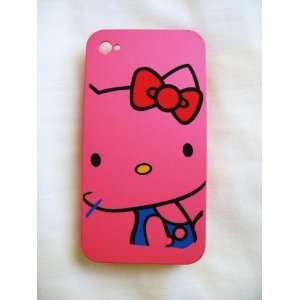 back case Designer style HK Pink iphone 4 / os4 / 4g