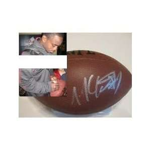 Joe Mcknight Jets Autographed Hand Signed Nfl Football