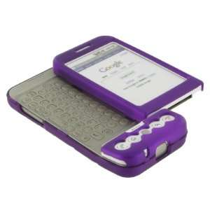 G1 Google Cell Phone Rubberize Textured Purple Snap On Case Cover