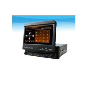 Double Din Car DVD with 7 inch LCD,with Bluetooth+GPS Car