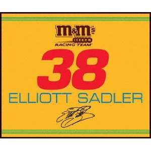 Elliott Sadler 60x50 Team Blanket #38