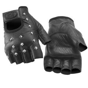 River Road Vegas Shorty Leather Gloves, Size Lg, Gender Mens 0160/ST