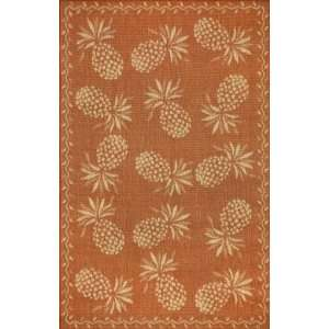 Trans Ocean   Thatcher   Pineapple Area Rug   33 x 411
