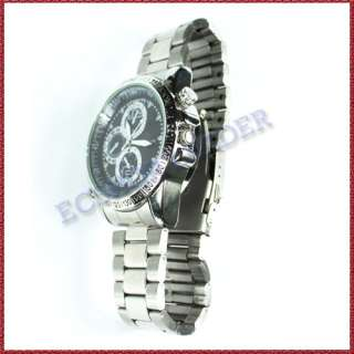 WaterProof Mini HD Camera Hidden Spy Wrist Watch DV DVR Cam USA