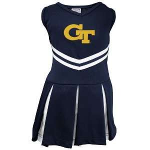 Georgia Tech Yellow Jackets Youth Navy Blue Cheerleader