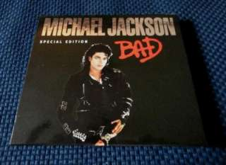 MICHAEL JACKSON CD Bad Special Edition Singapore Release *Rare*
