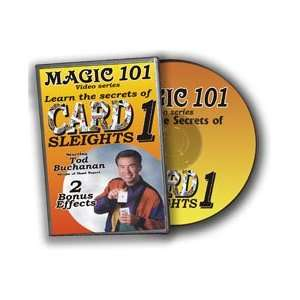 Sleights DVD Magic 101 Tricks easy money trick gag