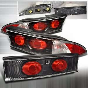 Mitsubishi Mitsubishi Eclipse   3Pc Black Altezza Tail Lights/ Lamps
