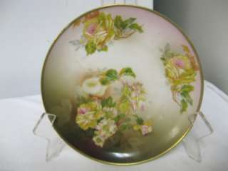 Older ROYAL INNSBRUCK VIENNA HandPainted Floral Plate