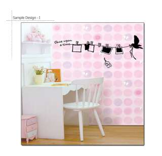 PHOTO TIME Vinyl Art Sticker Frame Wall Decal Removable