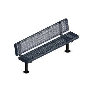 Webcoat Innovated Rolled Style 6Ft. Bench with Back, Small