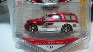 Jada Badge Heat #23 2003 Lincoln Navigator Fire