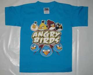 Teal Angry Birds The Nest Toddler Unisex Child Kid Cotton Tee T Shirt