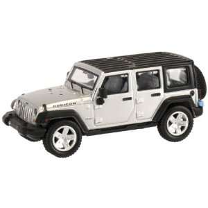 HO 2007 Jeep Wrangler 4 Door Unlimited (Silver) Atlas