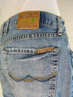 Lucky Brand Dungarees Fit Fender Block Zipper Fly 32