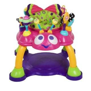 Bright Starts Bounce A Bout Activity Center, Pink, Style