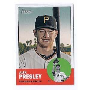 2012 Topps Heritage #55 Alex Presley Pittsburgh Pirates