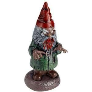 Zombie Garden Gnome (Silver/Red)