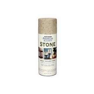 Krylon 18212 Make It Stone Textured Spray Paint Obsidian