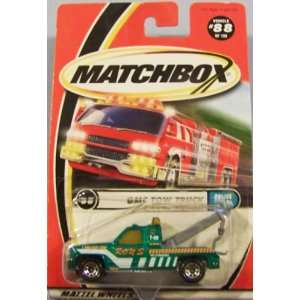 GMC Tow Truck Matchbox 2000 Police Patrol Series #88 of