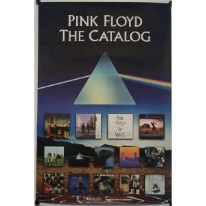 Pink Floyd Back Catalogue Double Sided Promo Poster