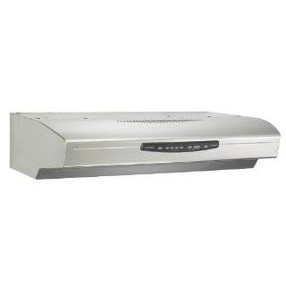 Energy Star Deluxe Quite Under Cabinet Range Hood, 30 Inch Wide, White