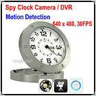 Spy Camera Clock Watch Motion Detection DVR Record Cam