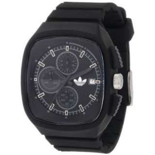 Adidas Mens ADH2024 Black Toronto Chronograph Watch   designer shoes