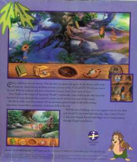 Once Upon A Forest PC CD kids hit movie adventure game