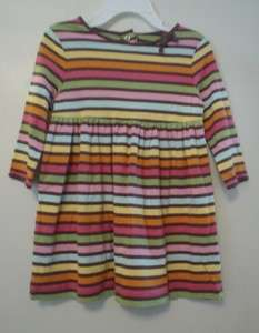 NWT GYMBOREE GIRLS STRIPE EMPIRE WAIST DRESS PLAY NEW 12   18 MONTHS